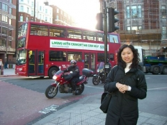 Regent, Evgeniya Min in London