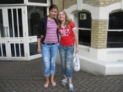 Select English London, Ryabkova with girlfriend