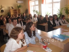 Les Roches-Glion High School visits Krasnodar 2010 (5)