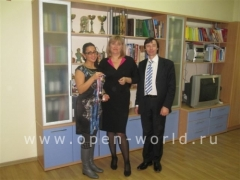 Les Roches-Glion High School visits Krasnodar 2010 (10)